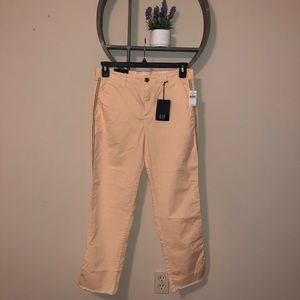 Gap Chino Girlfriend Pants